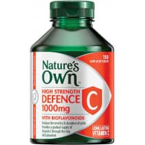 Natures Own High Strength Defence C 1000mg 150 Tablets