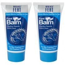Neat Feat Foot & Heel Balm 120g Twin Pack