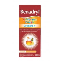 Benadryl Childrens Cough 2yrs+ 200ml