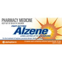 Alzene 10mg 10 Tablets