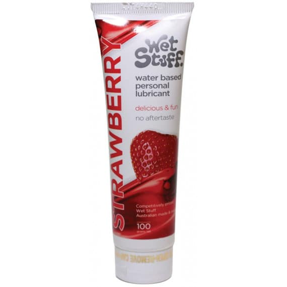 Wet Stuff Water Based Personal Lubricant Strawberry 100g