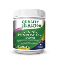 Quality Health Evening Primrose Oil 1000mg 200 Capsules