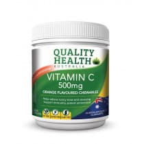 Quality Health Vitamin C 500mg 200 Tablets