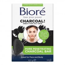 Biore Pore Penetrating Charcoal Bar 107g