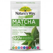 Natures Way SuperFoods Matcha Green Tea 50g