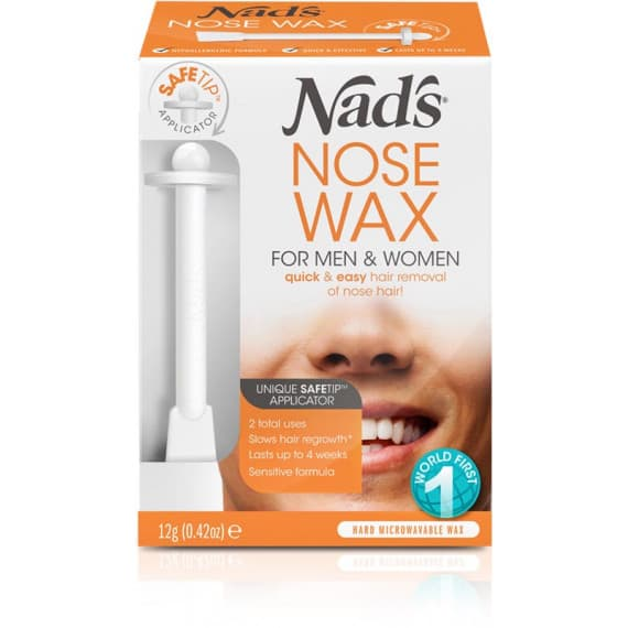 Nads Hair Removal Nose Wax For Men & Women 12g