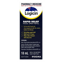 Logicin Rapid Relief Nasal Spray Refill 18ml