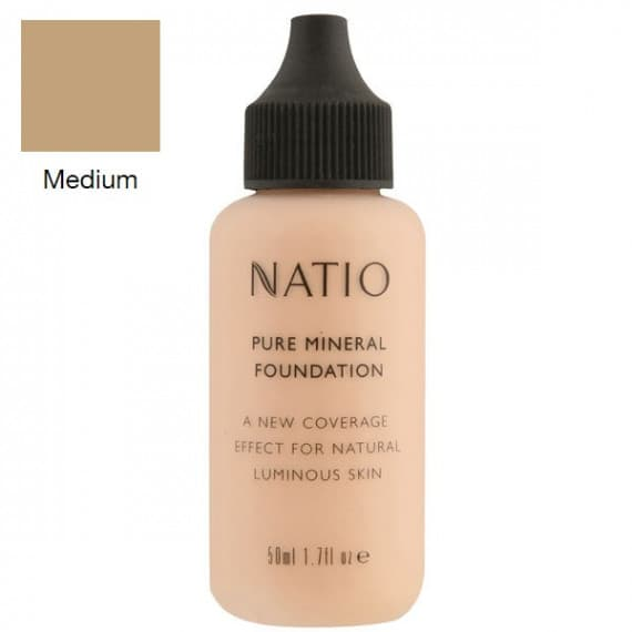 Natio Pure Mineral Foundation Medium 50ml