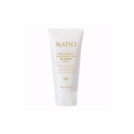 Natio Pure Mineral Skin Perfecting BB Cream SPF 15 Tan 50g