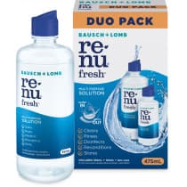Bausch & Lomb Renu Fresh Multi-Purpose Solution Duo Pack 475ml (355ml + 120ml)