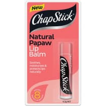 Chapstick Lip Balm Natural Pawpaw