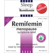 Remifemin 200 Tablets With Bonus Remifemin Sleep 30 Tablets
