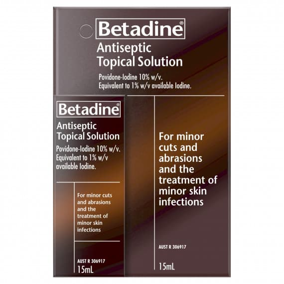 Betadine Antiseptic Topical Solution 15ml