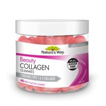 Natures Way Beauty Collagen Berry Gummies 40 Gummies