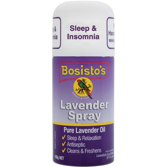 Bosistos Sleep & Insomnia Lavender Spray 125g