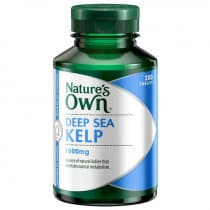 Natures Own Deep Sea Kelp 1000mg 200 tabs