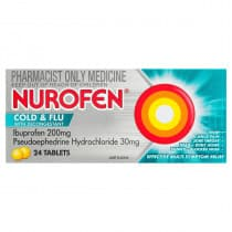 Nurofen Cold and Flu 24 Tablets