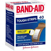 Band-Aid Tough Strips Regular 40 Pack
