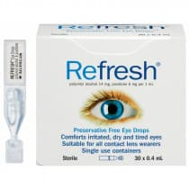 Refresh Eye Drops 0.4ml 30 Pack