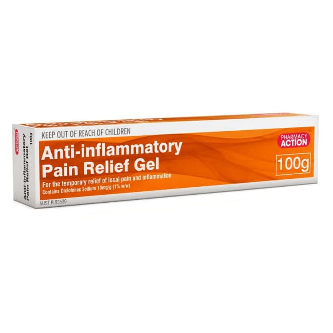 why is pain relief gel