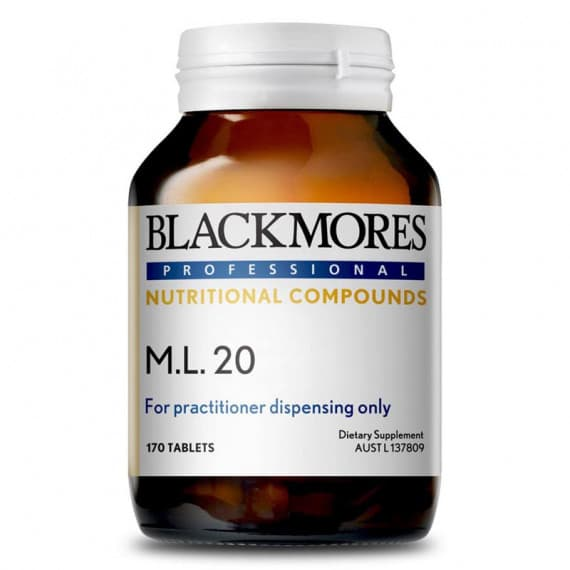 Blackmores Professional M.L.20 170 Tablets