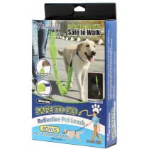 Safe To Go Reflective Dog Leash 183cm