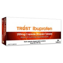 Trust Ibuprofen 200mg 24 Tablets