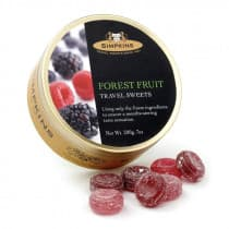 Simpkins Travel Tin Forest Fruits 200G