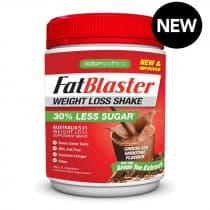 Naturopathica FatBlaster Shake 30% Less Sugar Chocolate 430g