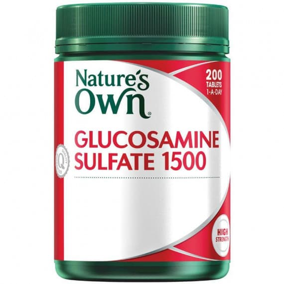 Natures Own Glucosamine Sulfate 1500mg 200 Tablets