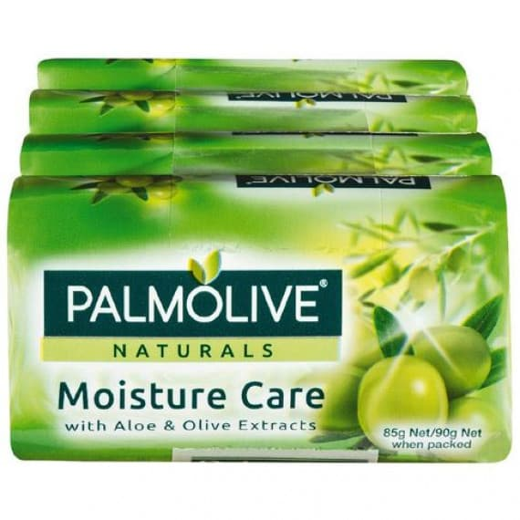 Palmolive Naturals Moisture Care Aloe & Olive Extracts Soap 4 Pack