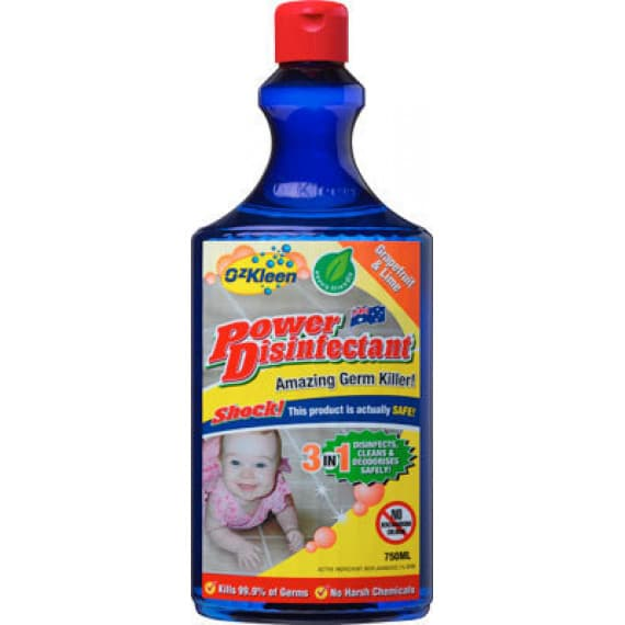 OzKleen Power Disinfectant 750ml
