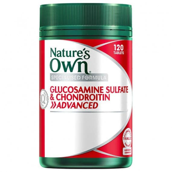 Natures Own Glucosamine Sulfate & Chondroitin Advanced 120 Tablets