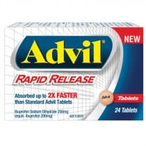 Advil Rapid Relief 24 Tablets