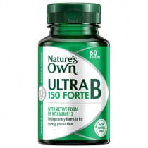 Natures Own Ultra B 150 Forte 60 Tablets