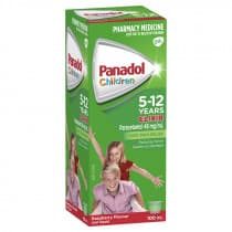 Childrens Panadol Elixir 5-12 Yrs 100ml