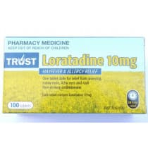 Trust Loratadine 10mg 100 Tablets