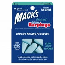 Macks Original Soft Foam Ear Plugs 5 Pair
