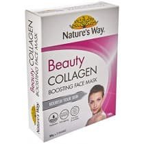 Natures Way Beauty Collagen Boosting Face Mask 25g 5 Pack