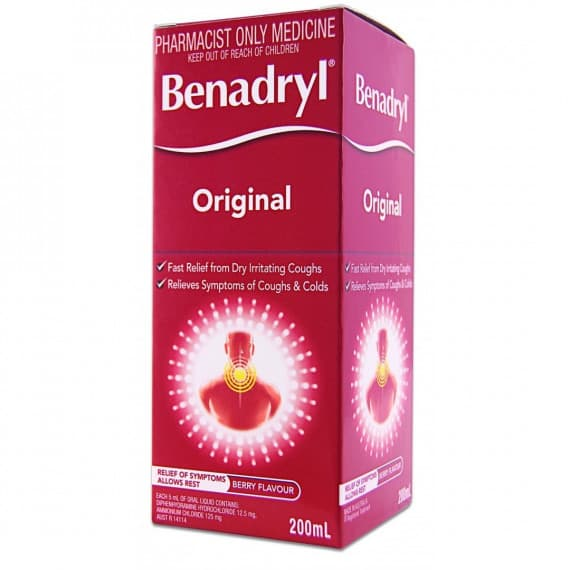 Benadryl Original 200ml