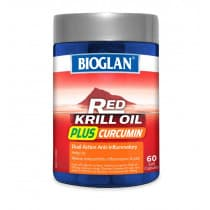 Bioglan Red Krill Oil Plus Curcumin 60 Capsules