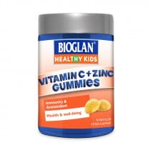 Bioglan Healthy Kids Vitamin C + Zinc Gummie 70 Tablets