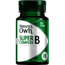 Natures Own Super B Complex 75 Tablets