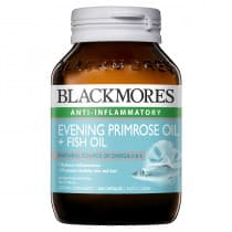Blackmores Evening Primrose Oil + Fish Oil 100 Capsules