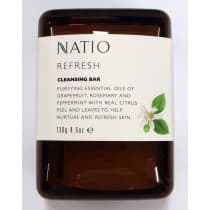 Natio Refresh Cleansing Bar 130g
