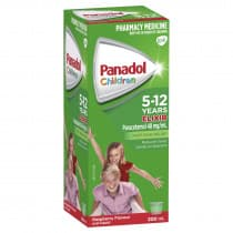 Panadol Children Elixir 5-12 Years 200ml