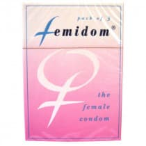 Femidom Female Condom 3 Pack
