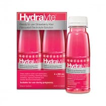 Hydralyte Ready to Use Electrolyte Solutions Strawberry Kiwi 250ml x 4