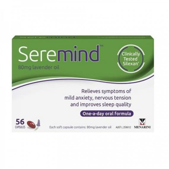 Seremind 80mg Lavender Oil 56 Capsules