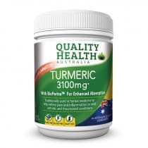 Quality Health Turmeric 3100mg With BioPerine 100 Tablets